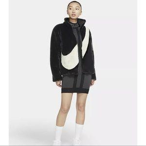 Nike NSW Faux Fur Jacket Womens